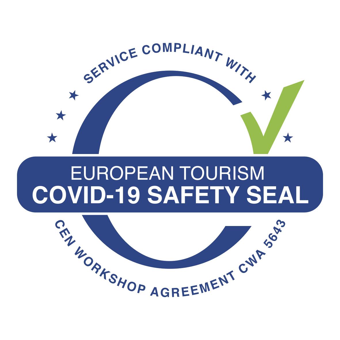 European safe turism logo