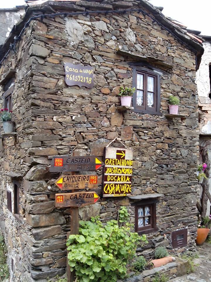Schist house in one of the 27 schist villages.